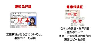 仙台銀行カードローン 本人確認書類