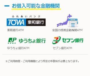 東和銀行カードローン ATM