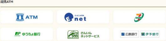 山陰合同銀行カードローン ATM